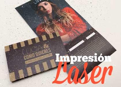 Impresión Laser color - Tamaño A3+ en papeles especiales