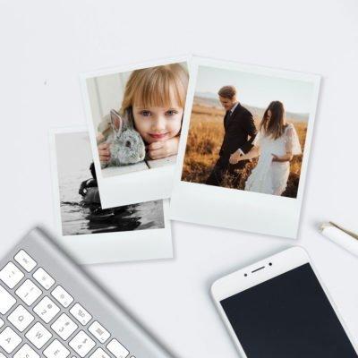 Impresión de Fotos en formato Polaroid - Pedidos Online - A buen Precio