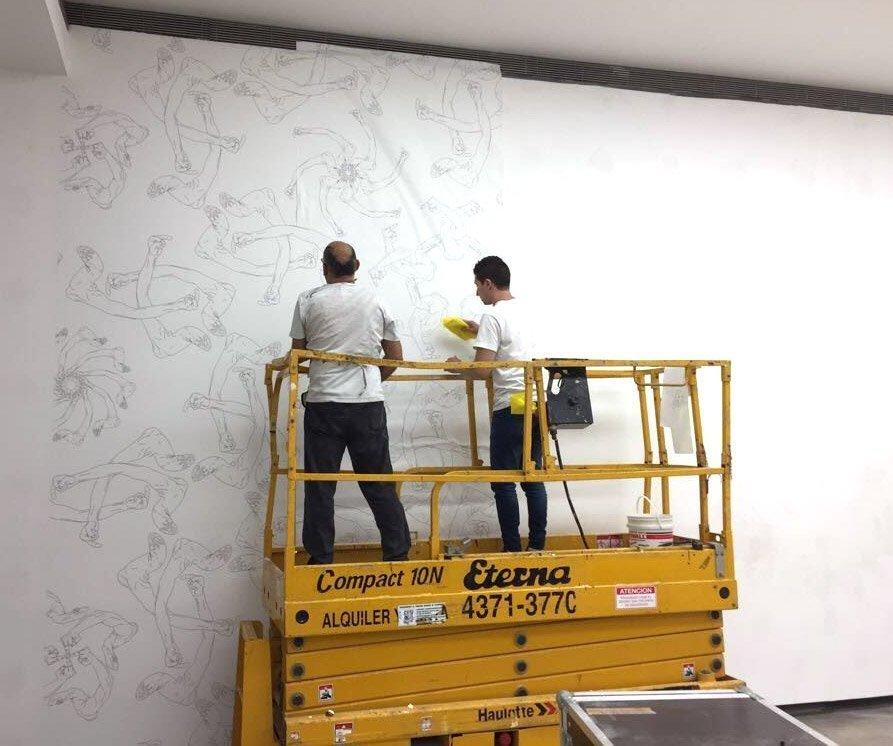 Instalacion en Fundacuion Proa - Fingers Ai Weiwei