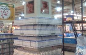 Isla de supermercado - Jabón Dove