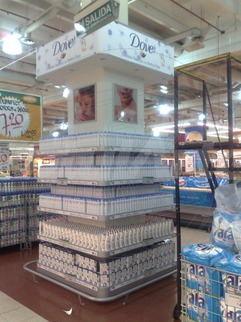 Isla para Supermercado