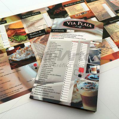 Menúes - Cartas - Para bares y restaurantes
