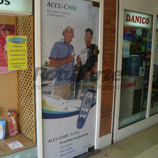 Microperforado para Farmacias - Puertas Ingresos