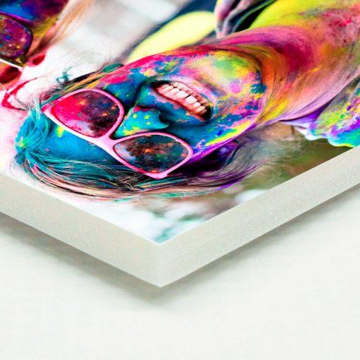 Montaje de fotografía en foam-board blanco de 10 mm de espesor