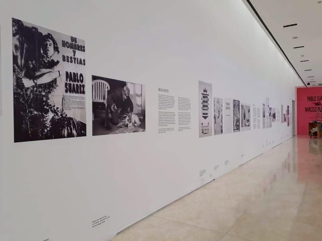Narciso Plebeyo - Malba - Linea de tiempo con fotografias