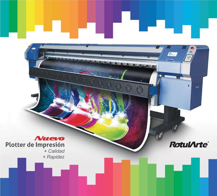 Nuevo plotter de impresión de gran formato - Gigantografías