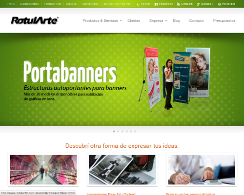 Nuevo sitio RotulArte
