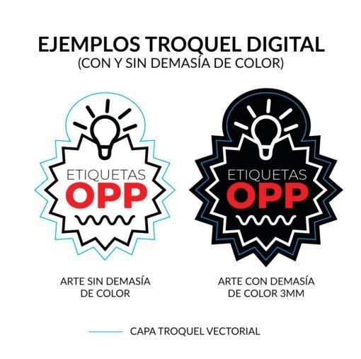 Ejemplos para realizar troquel digital de OPP