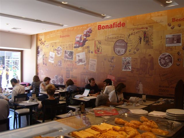 Mural pared Bonafide