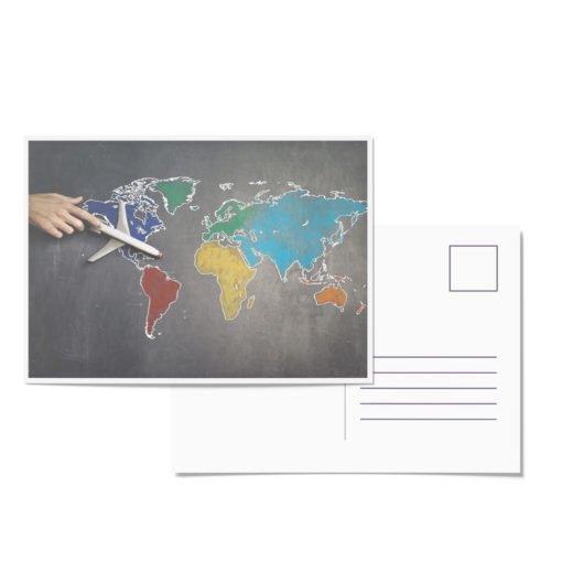 Impresión de Postales Publicitarias