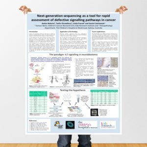 Poster para Congreso de medicina