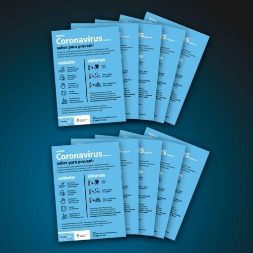 Poster de normativa de prevención del Coronavirus (Covid-19)