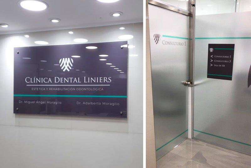 Señalización Consultorio Odontológico