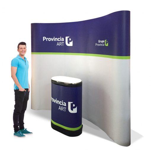 Stand portátil - Banco Provincia