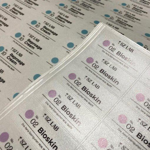 Stickers en Vinilo Esmerilado