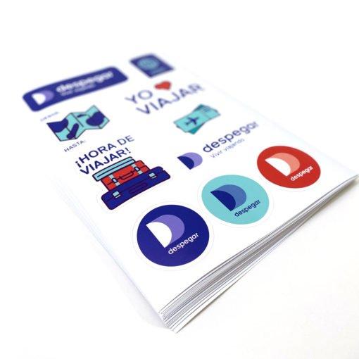 Stickers en Planchas - Impresión Online