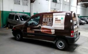 Utilitario - Gráfcica Vehicular - Impresión en vinilo laqueado
