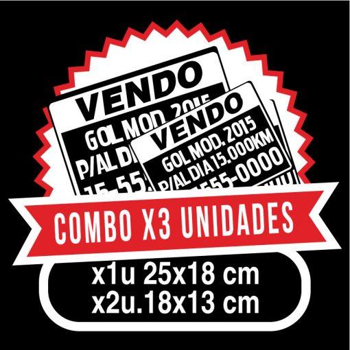 vendo_auto_ploteo_vinilo_x3_unidades_promo
