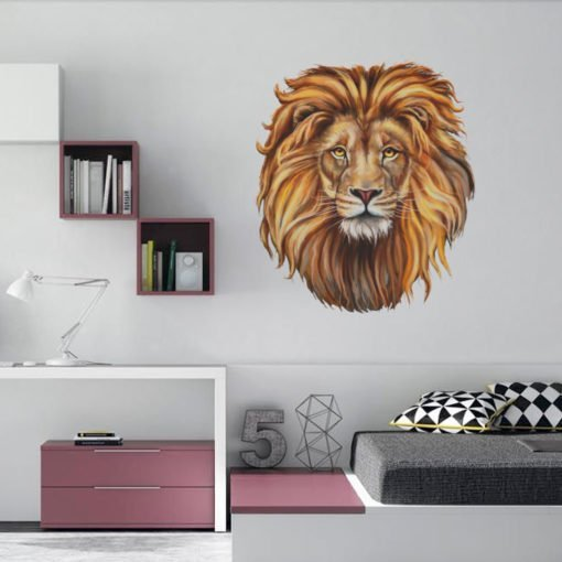 Vinilo decorativo de Pared - Leon Pintado
