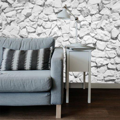 Vinilo decorativo para pared personalizado Textura de Piedra