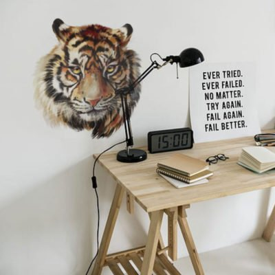 Vinilo decorativo de Pared - Tigre Pintado