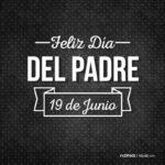 Vinilo Feliz dia del padre - 19 de Junio