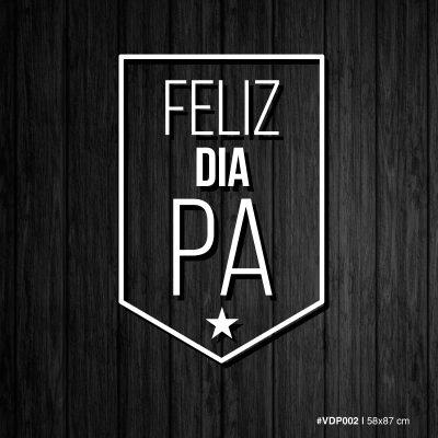 Vinilo Feliz dia Pa