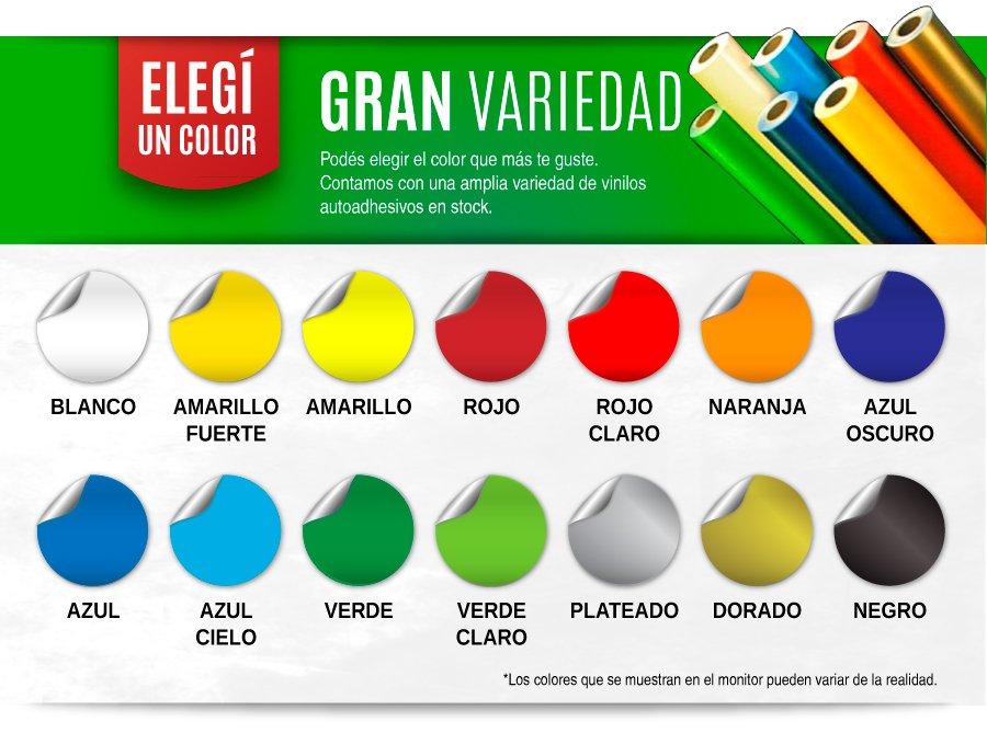 Catalogo de Vinilos - Colores Básicos