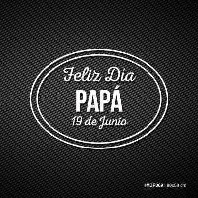 Feliz día Papá - Ovalo