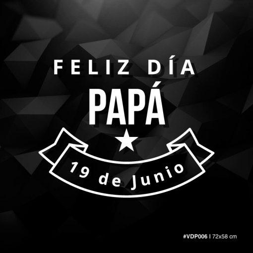 Feliz dia Papa - 19 de Junio