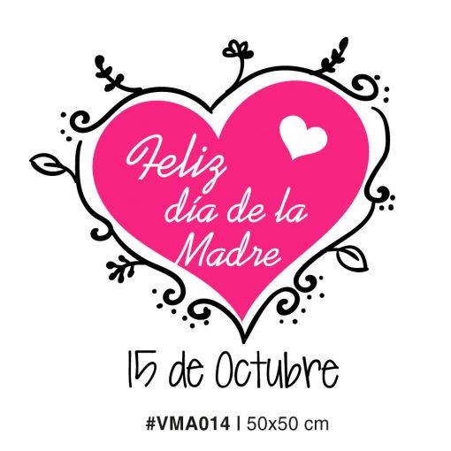 Corazon Vintage - Dia de la Madre - Vinilo