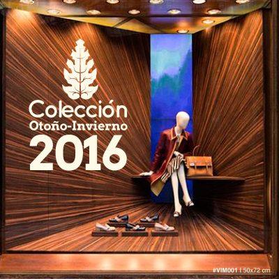 Vinilo Vidriera - Colección Otoño Invierno 2016