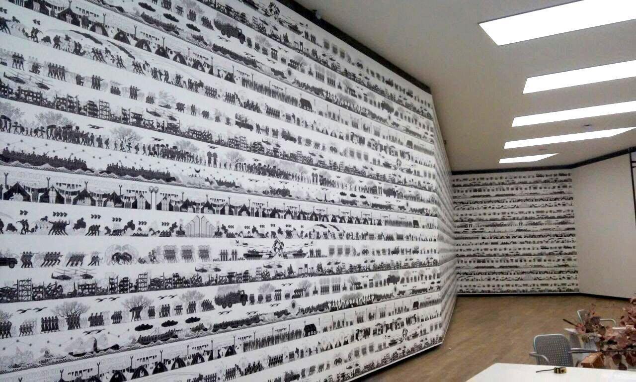 Wallpaper Ai Weiwei - Fundación Proa